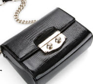 YSL black handbag at Rue La La