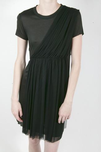 a.l.c. tulle draped dress