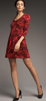 ali ro flower print dress