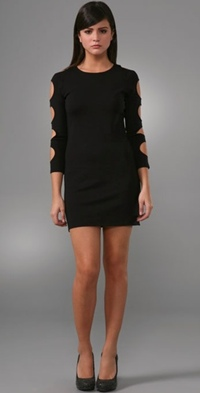 Alice & Olivia cut-out dress