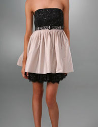 alice and olivia tulle dress