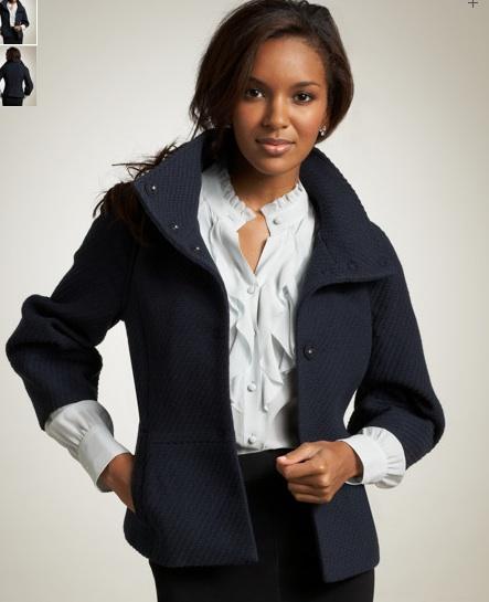 ann taylor textured wool jacket