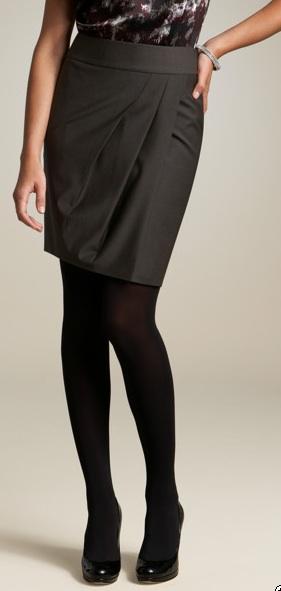 ann taylor wool skirt
