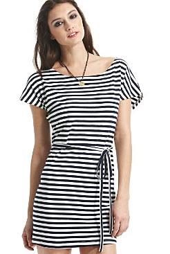 Nautical Stripe Dress The Dress Shop