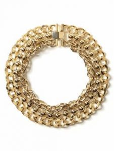 banana republic chain necklace