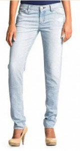 banana republic slouchy skinny distressed jeans