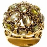Banana Republic glistening gem ring
