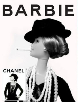 barbie for chanel