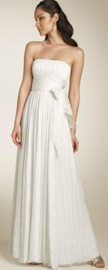 bcbgmaxazria silk gown