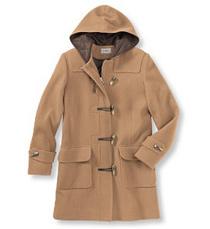 L.L. Bean toggle coat