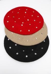 Isaac Mizrahi for QVC beret