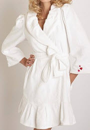 betsey johnson robe