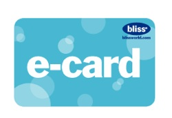 bliss virtual e-card