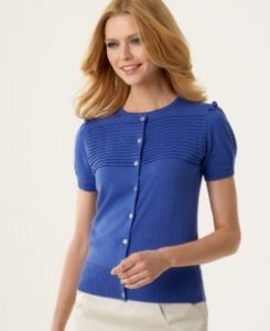 calvin-klein-pleated-yoke-top