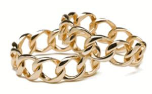 cc skye chain link bracelet