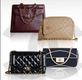 chanel vintage handbags