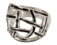 charlotte russe woven enamel ring
