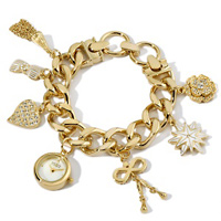 american glamour badgley mischka charm watch