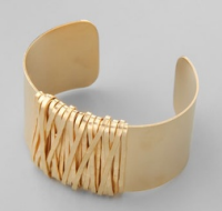citrine by the stones wire cuff