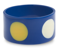 color cafe dot resin bangle