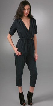 current/elliott the short sleeve jumpsuit