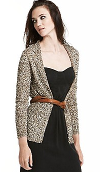 cynthia vincent sequin cardigan