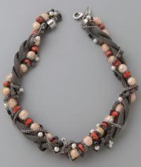 dannijo opal necklace