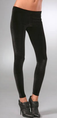 david lerner velvet leggings