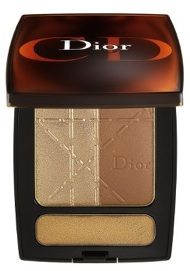 dior bronze face and lip palette
