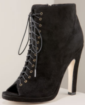 dolce vita suede lace up booties