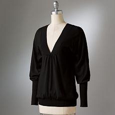 lauren conrad for kohl's dolman sleeve sweater