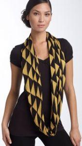 echo triangle infinity scarf