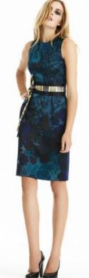 Eli Tahari floral dress