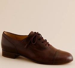 elsbeth leather oxfords
