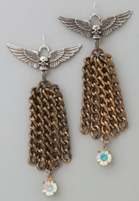 fallons angels earrings