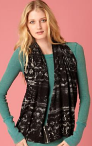 free people lace print convertible wrap