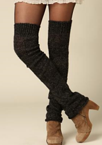 free people leg warmers
