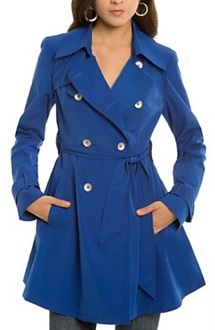 g by guess trenchcoat