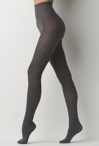 Ann Taylor Loft gray tights