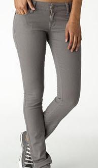 grey skinny jeans - Jean Yu Beauty