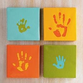 handprint art kit
