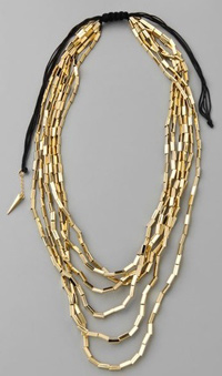 House of Harlow 1960 Six Strand Necklace