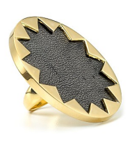 house of harlow sunburst leather ring