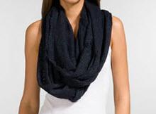 Paula Bianco infinity scarf