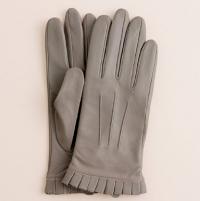 j crew leather gloves