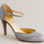 j. crew rebekah grey heeled mary janes