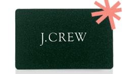 jcrew gift card
