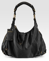 juicy peaceful leather hobo