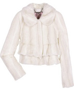 Juicy Couture Faux Fur Cropped Jacket