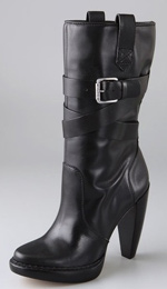 KORS Michael Kors Lisa Slouch Buckle Boot